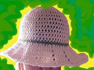 Crochet Pattern Double Bow Summer Floppy Hat (78) (Crochet Hats